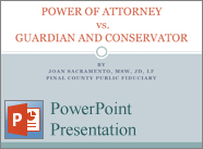 Power of Attorney vs Guardian and Conservator